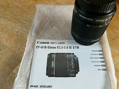 Canon EF-S 18-55mm f3.5-5.6 IS STM - Mint Condition - Originally Bought From BH