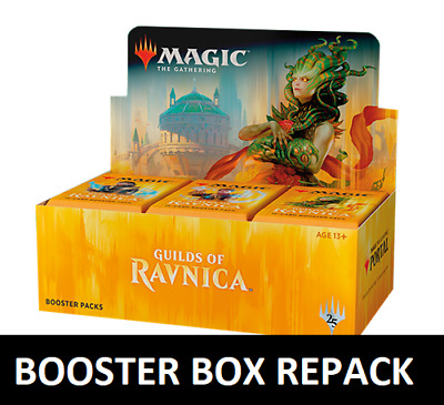 Magic: the Gathering MTG GUILDS RAVNICA REPACKED BOOSTER BOX 36 PACKS + 250 CARD