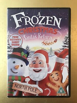A Frozen Christmas - Santa's Return (DVD, 2018) Brand New and Sealed!