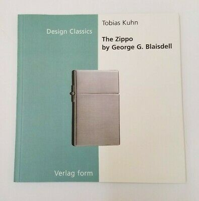 The Zippo by George G. Blaisdell  Design Classics Series Paperback Book 2000 NEW