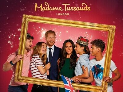 2 Tickets to Madame Tussauds London Wednesday 18th December 10:45  a.m.