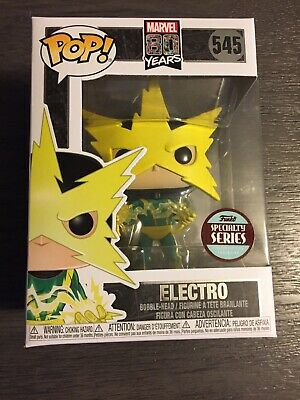 Funko Pop! Marvel Specialty Series 80Th First Appearance Electro Pop (In Stock)