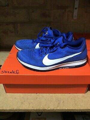 Nike Air Zoom Streak 6 Hyper Royal Blue / White Men Running Shoes