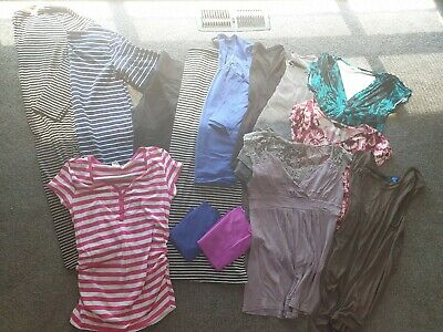 Maternity clothes - bulk lot size 10-12Tops and dresses