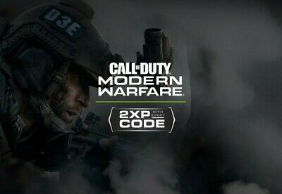 Call of Duty Modern Warfare 2XP Double XP 30MIN CODES. Instant delivery!!