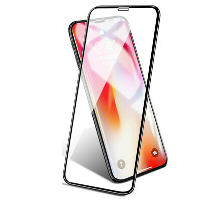 3D Curved Tempered Glass 9H Screen Protector For Apple iPhone X/ XS Full Cover