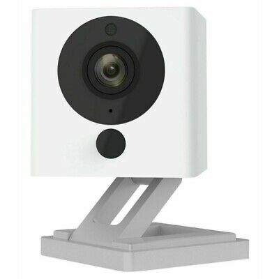 Indoor Wireless Smart Household Camera with Night Vision 2-Way Aud 1080P HD US