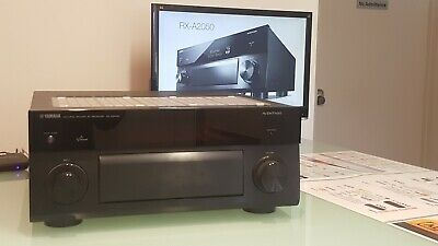 Yamaha RX-A2050 AVENTAGE AV Receiver Amplifier 9.2 Channel, Wi-Fi, Bluetooth