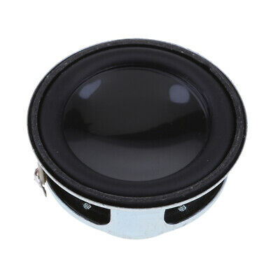 Professional 40mm 4Ohm 5W Full Range Audio Speaker PU Round Hi-Fi Stereo