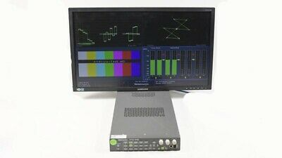 Tektronix WVR5000 Multi-format Waveform Rasterizer OPT: SD HD DG Audio #B020816