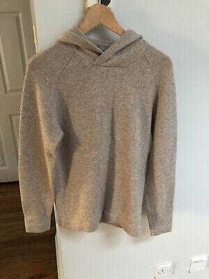 Cos Cashmere Hoodie Size Small