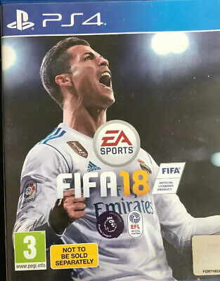 FIFA 18 (PS4) - MINT Condition