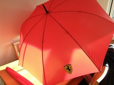 Ferrari Red Umbrella.