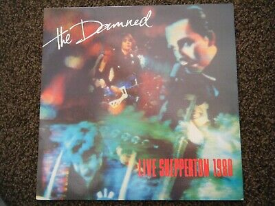 The DAMNED Live Shepperton 1980  Mint Condition Punk LP-NEW ROSE-SMASH IT UP