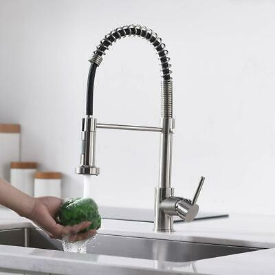 """BWE NSF No Lead Faucet Commercial Sink Wall Mount Faucet 8"""" Swivel Spout 8"""" Inch"""