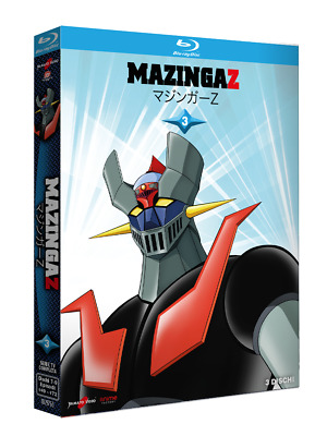 Mazinga Z Vol. 3 (3 Blu-Ray) YAMATO VIDEO