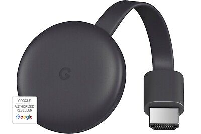 Google Chromecast - 3rd Generation - Black