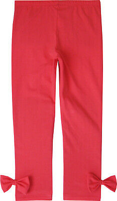 Girls Pants Pink Legging Butterfly Trousers Children Clothes Age 2-10 Years