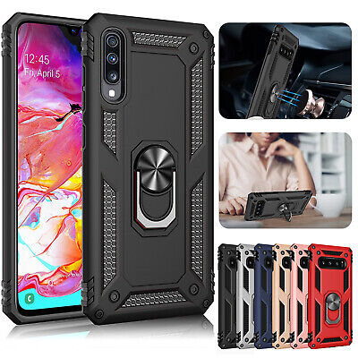 For Samsung A90 A80 A50 A30 A20 A10 Cover Heavy Duty Hybrid Rubber Stand Case
