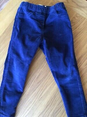 Gorgeous Mini Boden Brand New Cord Leggings  Age 2-3 Years Navy Blue.