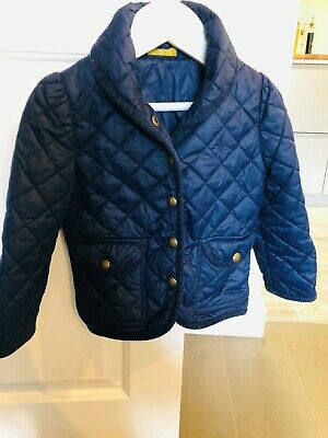 Polo Ralph Lauren Girls Navy Quilted Jacket 2-3 years old