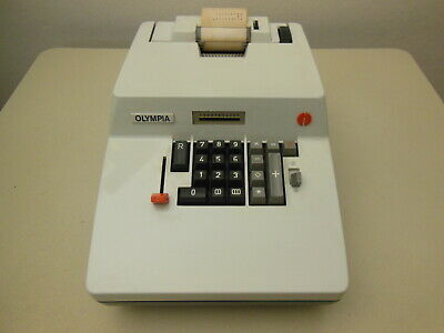 Olympia RAS 12  neuwertig. Interessante Technik. Vintage calculator.