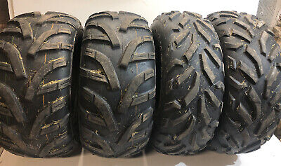 Quad Atv Utv Tyre DURO Red Eagle  Full Set 25x8-12 25x10-12 VGC