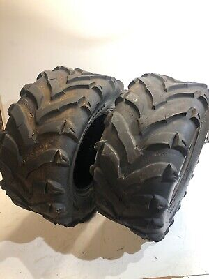 Quad Atv Utv Tyre Innova Mudgear 25x10-12 matched Pair (ref #31)