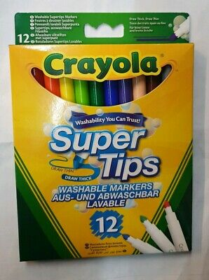 Crayola Crayons,Markers,Supertips,Chalk,ColoringPencils - 38 Options - FREE P&P