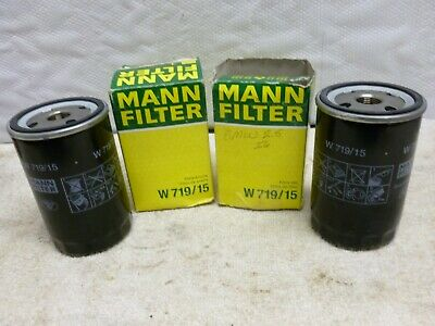 BMW Spin on Oil Filter 11 42 9 061 198 MANN W719/15 (2 Filters)
