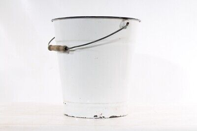 Old Bucket Enamel Bucket Old Vintage Decoration Flowerpot Garden Home