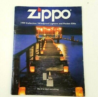 Zippo Complete Line Brochure 1999 Collection New