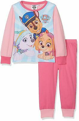 SKYE Paw Patrol Girls Pyjama Set Long Sleeve Pink BNWT Age 2-3 Everest Chase