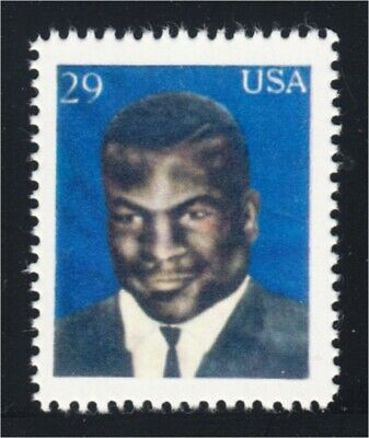 Mike Tyson Boxer Fantasy Stamp Artistamp by F.I.R.E. 1994