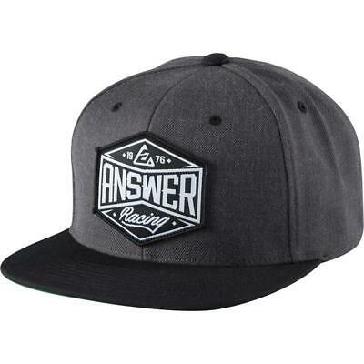 Answer Hex Hat Charcoal (Gray, OSFM)