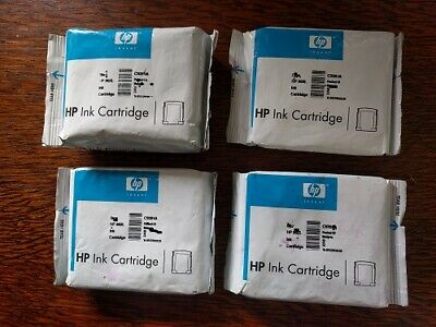 HP Genuine 11 C4810A/11A/12A/13A Printheads and Ink cartridges *NO BOX* Expired