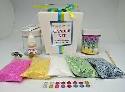 Candle Making Kit - Candle Powder - Great for Kids