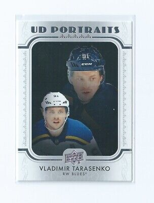 Vladimir Tarasenko UD Portraits 2019-20 Upper Deck Series 1 Hockey Card P-23
