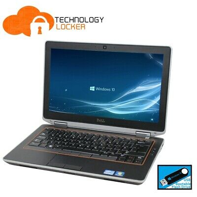 "Dell Latitude E6320 13.3 "" Laptop Intel Core i5-2520M @2.50GHz 4GB RAM 320GB HDD"