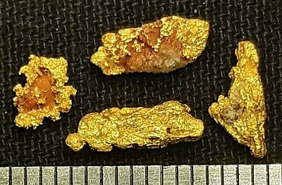 4 Gold Nuggets From WESTERN AUSTRALIA 1.12 grams
