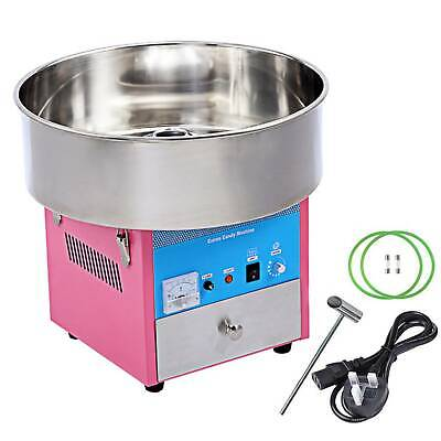 Electric Commercial Cotton Candy Machine Sugar Fairy Floss Maker Party Home DIY