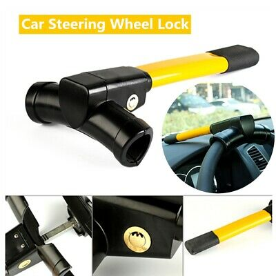 Universal Car Heavy Steering Lock Wheel Anti-Theft Security Rotary Auto SUV Car