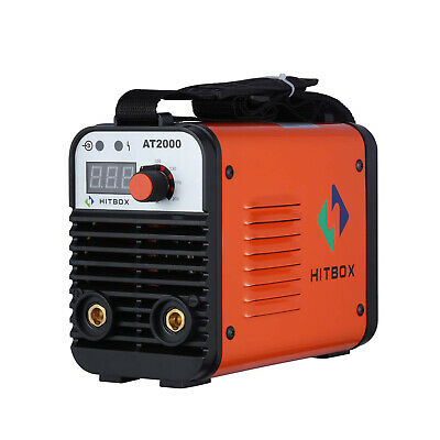 HITBOX 110/220 Volt Arc Welder AT2000 Inverter Rod ARC Stick MMA Welding Machine