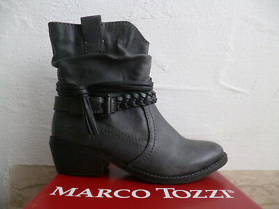 MARCO TOZZI 25208 Women's Boots, Ankle Boots, Boots Grey New