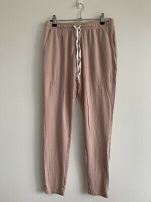 "Bae The Label Maternity ""Remember When"" Jogger Pants Desert Rose XS"