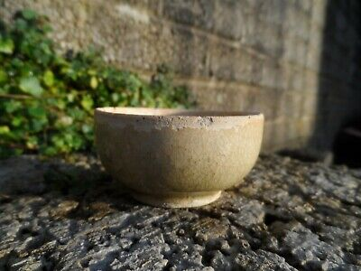 Chinese antique pot - Tang Dynasty small green glaze cup or bowl - ceramics