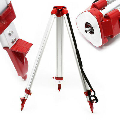 Telescopic Construction Tripod 162.5cm Stand Extendable Cross Line Laser Mount