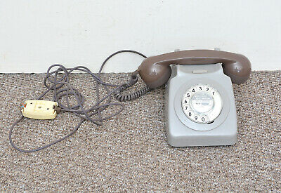 old rotary dial telephone vintage retro - FREE DELIVERY