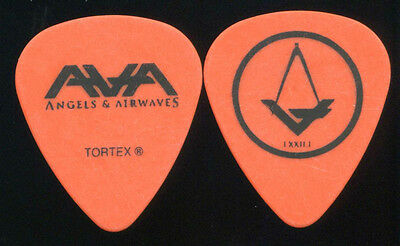 ANGELS & AIRWAVES 2010 Tour Guitar Pick!!! TOM DeLONGE concert stage BLINK 182