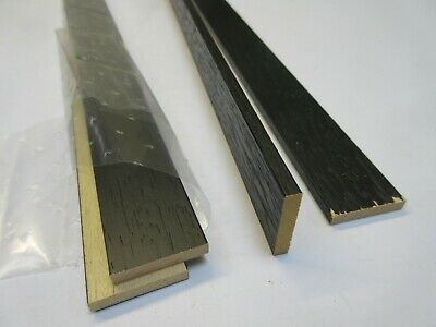 4 x 1m (4m) Bundle of Black Wood Frame Box Fillet Spacer Moulding - 5 x 28 mm